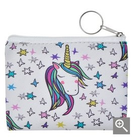 Clayre & Eef Children's wallet - white unicorn