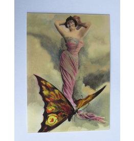 3D kaart - butterfly lady
