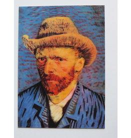 3D kaart - Vincent van Gogh