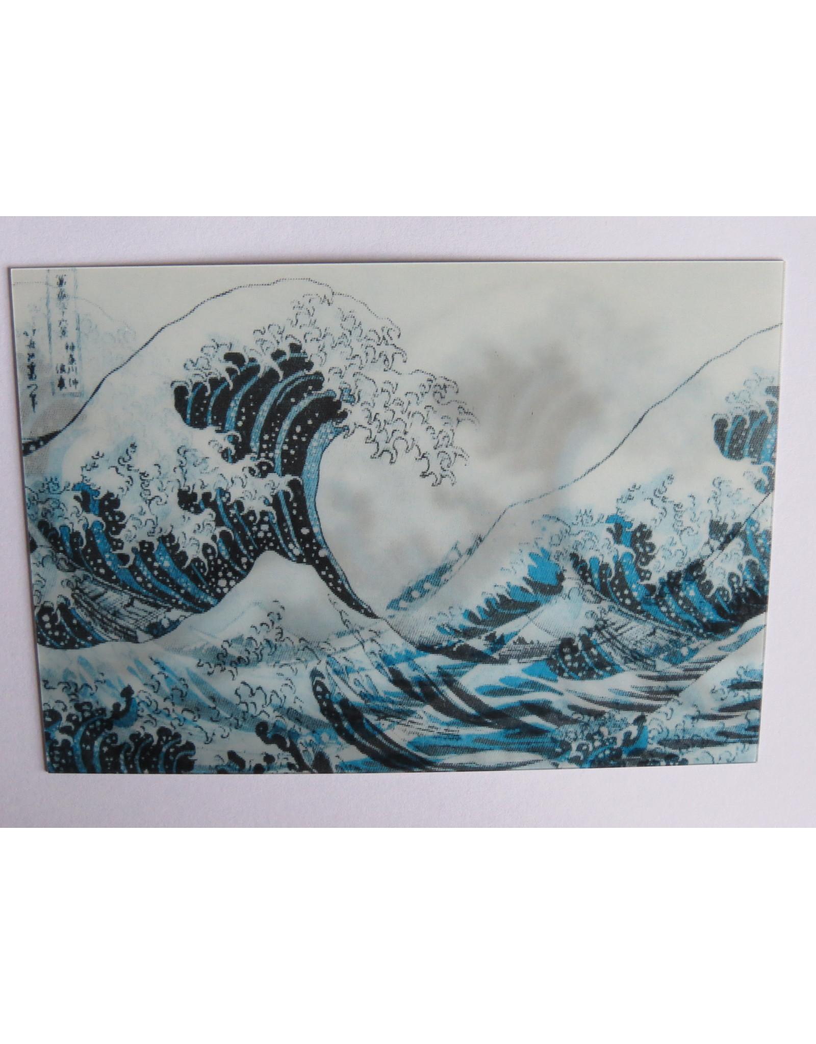 3D kaart - Hokusai Katsushika