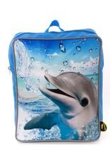 De Kunstboer - rugzak dolfijn