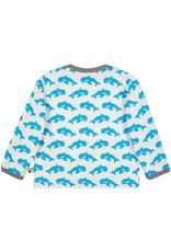 loud+proud Kids shirt - blue whales
