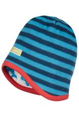 loud+proud Children's hat - blue with whales