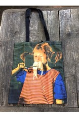 Pippi Langkous Bag - Pippi eats spaghetti