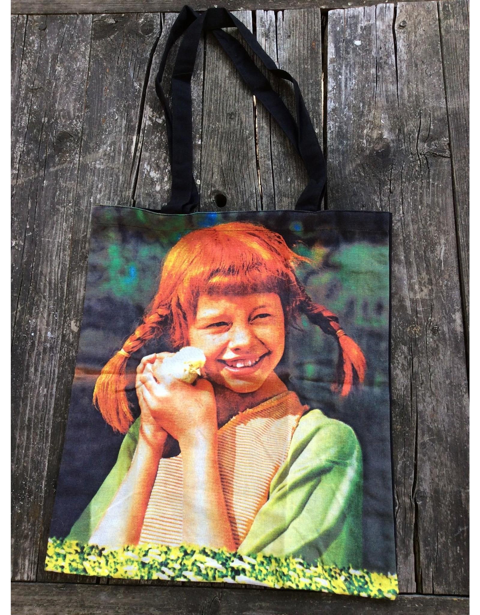 Pippi Langkous Tas - Pippi met kuiken