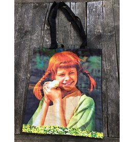 Pippi Langkous Bag - Pippi with chicken