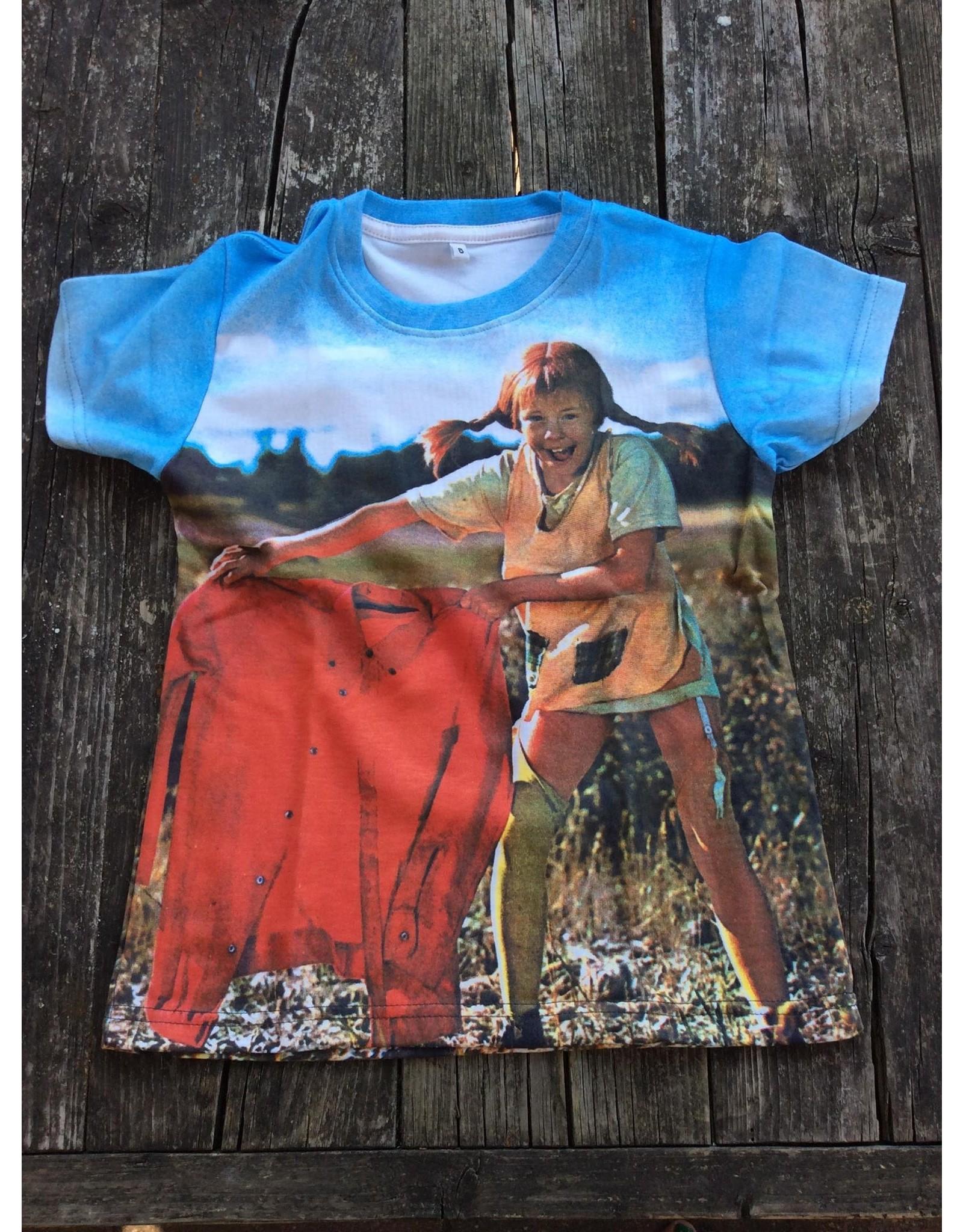 Pippi Langkous Kinder t-shirt - Pippi olé