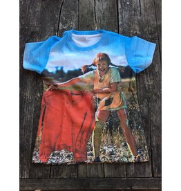 Pippi Langkous Children's tshirt - Pippi olë