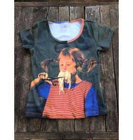 Pippi Langkous Volwassen t-shirt - Pippi spaghetti