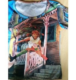 Pippi Langkous Volwassen t-shirt - Pippi villa Kakelbont