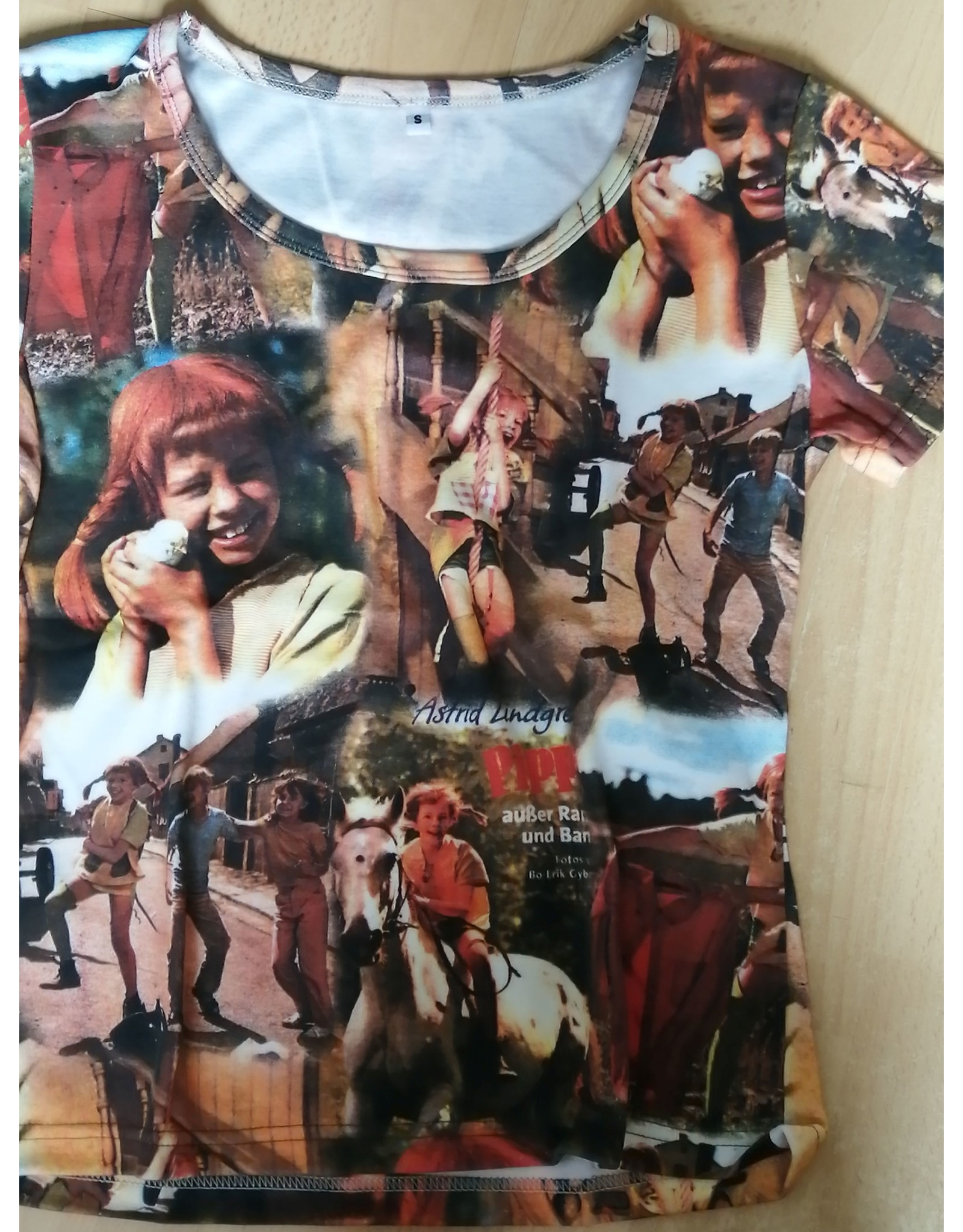 Pippi Langkous Volwassen t-shirt - Compilatie