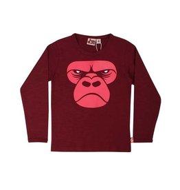 Danefae Longsleeve shirt - Deep red gorilla
