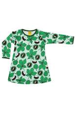 Duns Kinderjurk - groen met kastanjes
