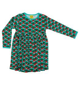 Duns Children's gather dress - radishes