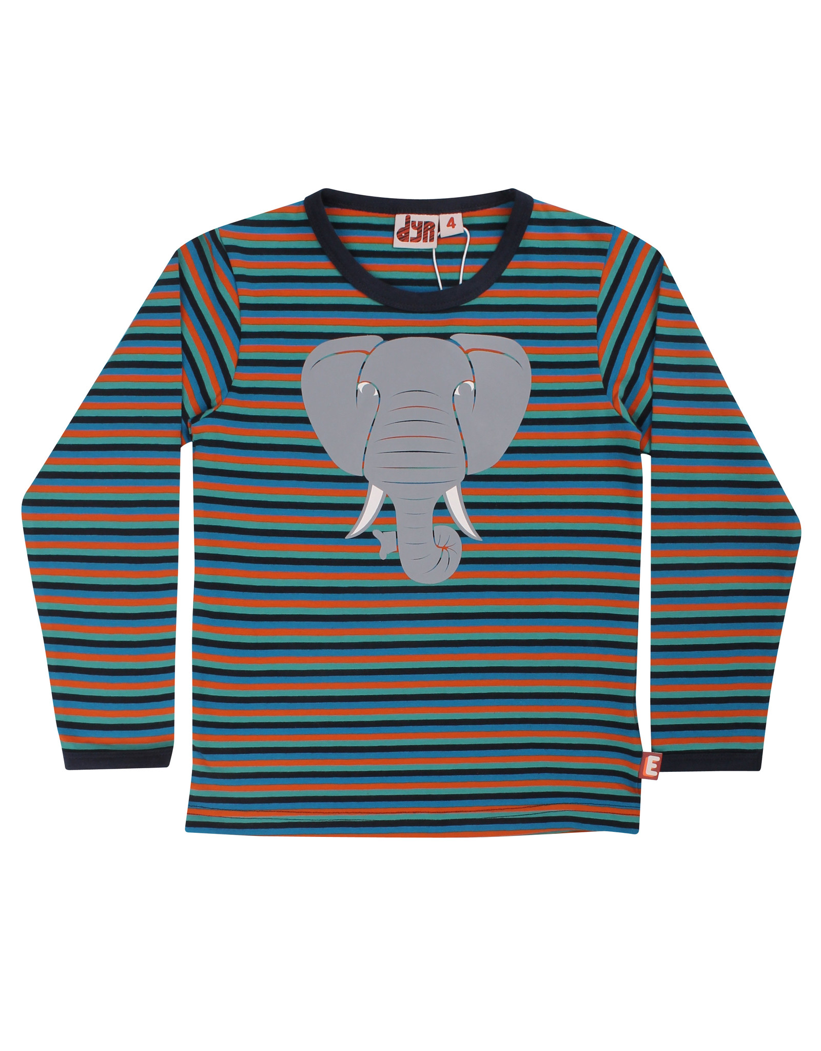 Danefae Kinder shirt - Durango olifant