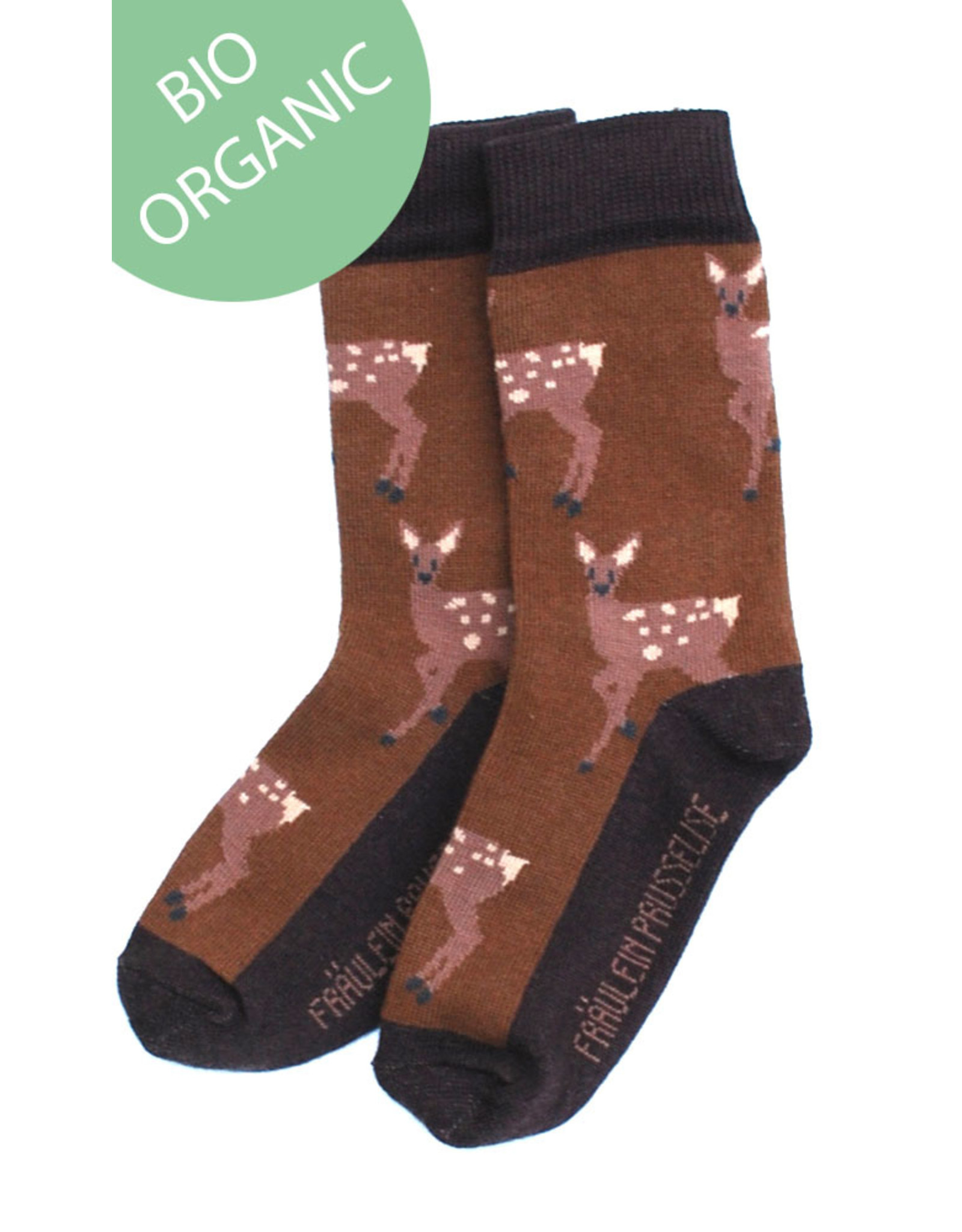 Fräulein Prusselise Children's socks - bambi
