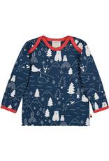 loud+proud Kinder shirt - blauw winter