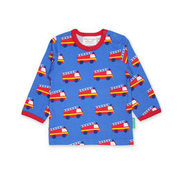 Toby Tiger Kids shirt - fire engines