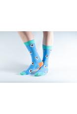 Doris & Dude Children's socks - puffins (31-36)