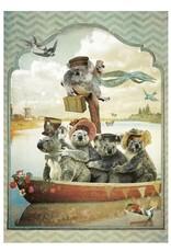 Postcard - koala's