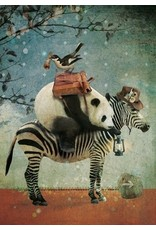 Ansicht kaart - panda