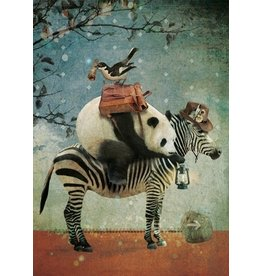 Postcard - panda