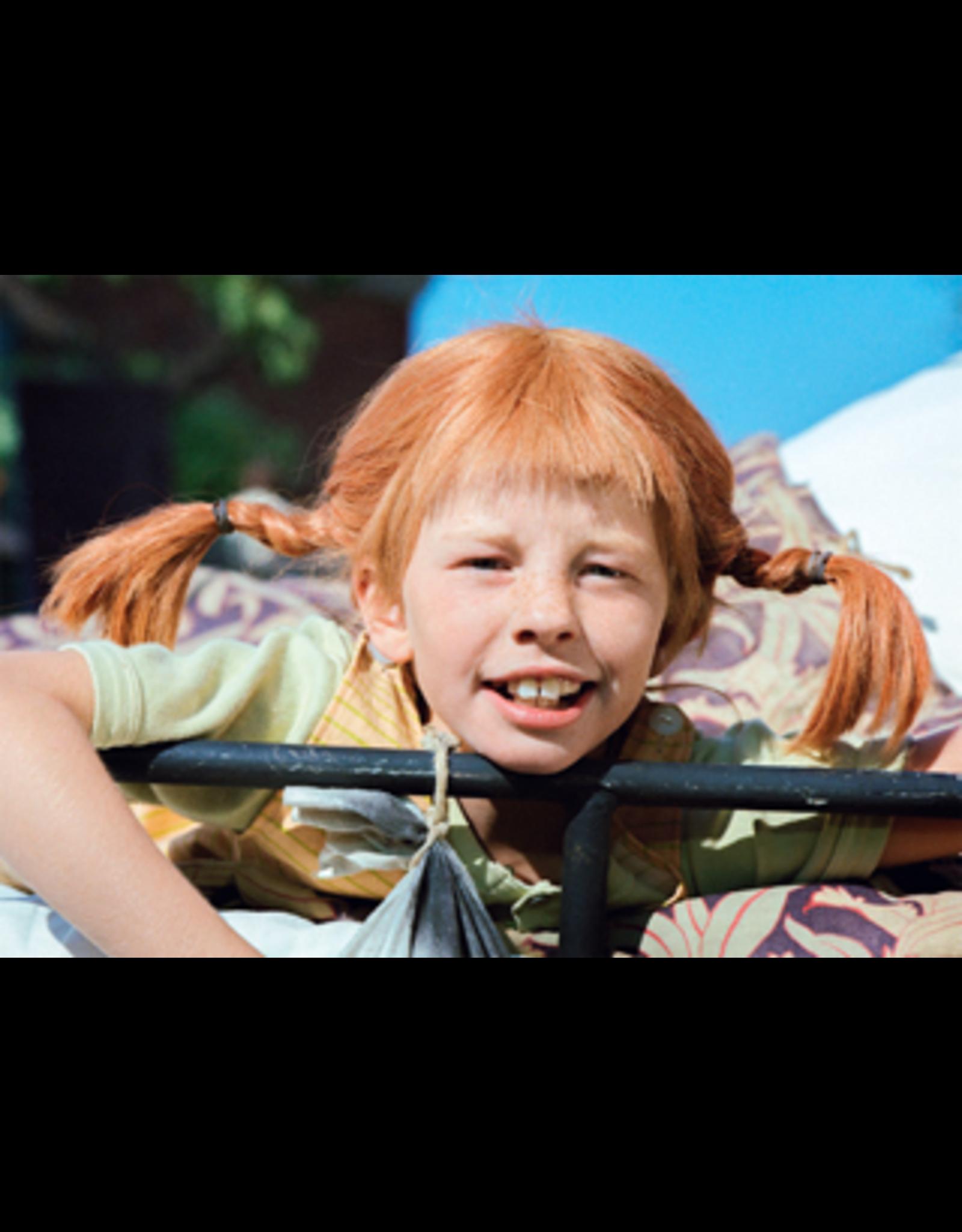Pippi Langkous Pippi Longstocking card - Let's think
