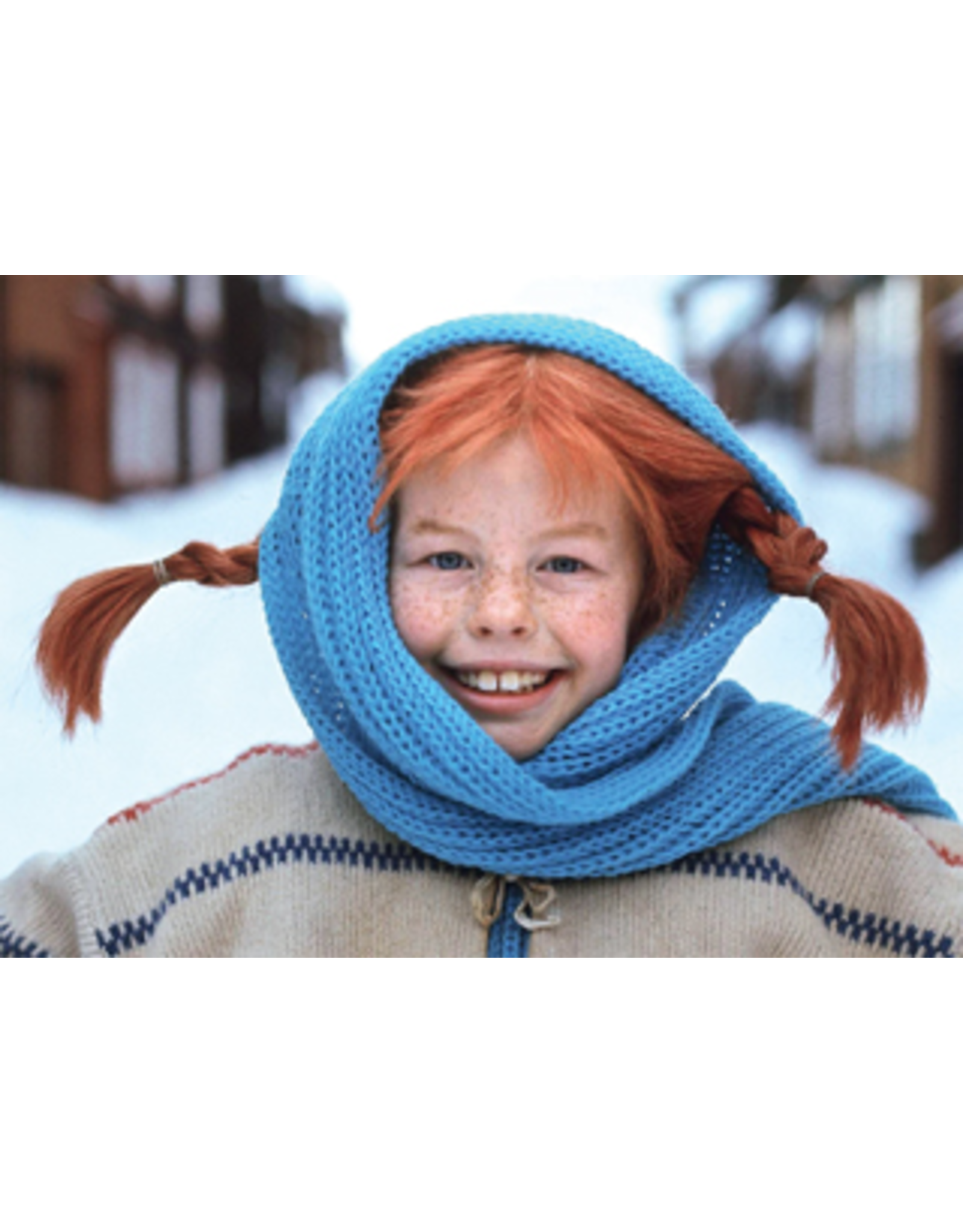 Pippi Langkous Pippi Langkous kaart - Winter