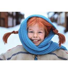 Pippi Langkous Pippi Longstocking card - Winter
