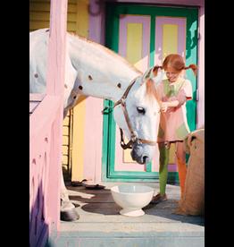 Pippi Langkous Pippi Langkous kaart - Witje op de veranda