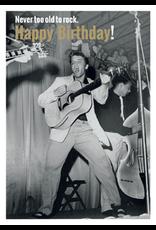 Elvis Presley kaart - happy birthday!