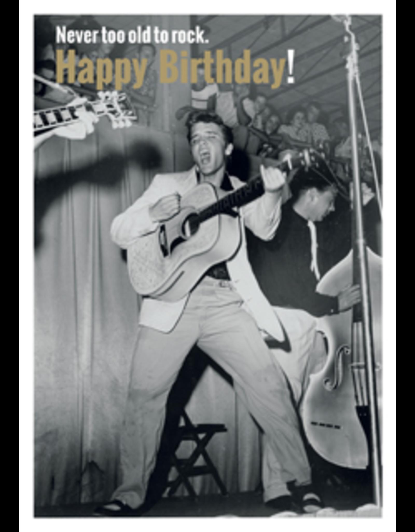 Elvis Presley card - happy birthday!