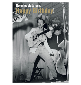 Elvis Presley card - happy birthday!