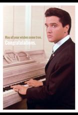 Elvis Presley kaart - congratulations