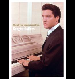 Elvis Presley card - congratulations