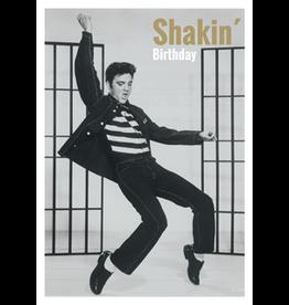 Elvis Presley kaart - shakin' birthday