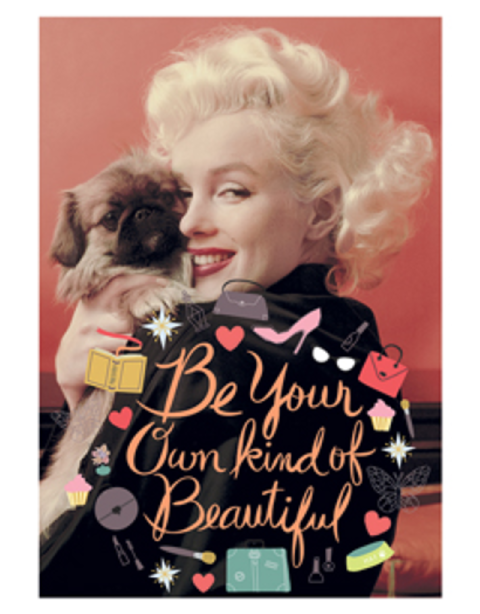 Marilyn Monroe kaart - Be your own kind of beautiful
