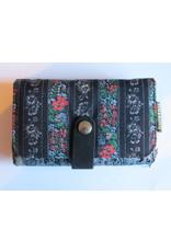 Huisteil Medium vintage wallet - black