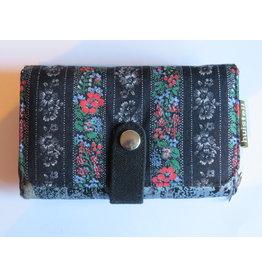 Huisteil Medium vintage portemonnee - black