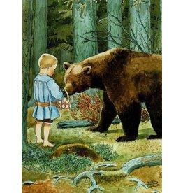 Elsa Beskow Elsa Beskow kaart - Moeders kleine Olle