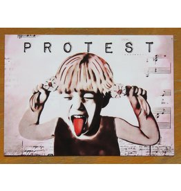 Card - protest