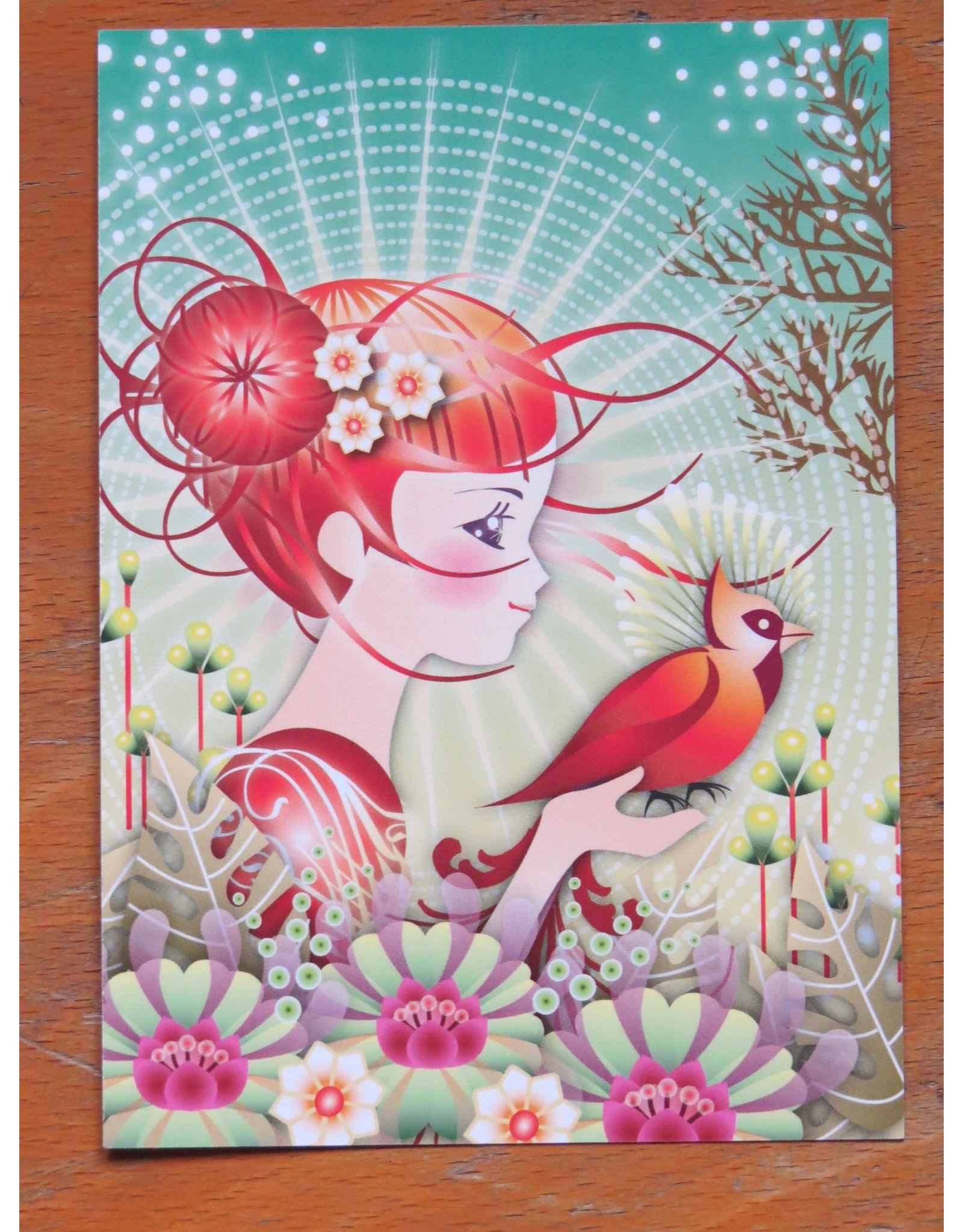 Card - bird