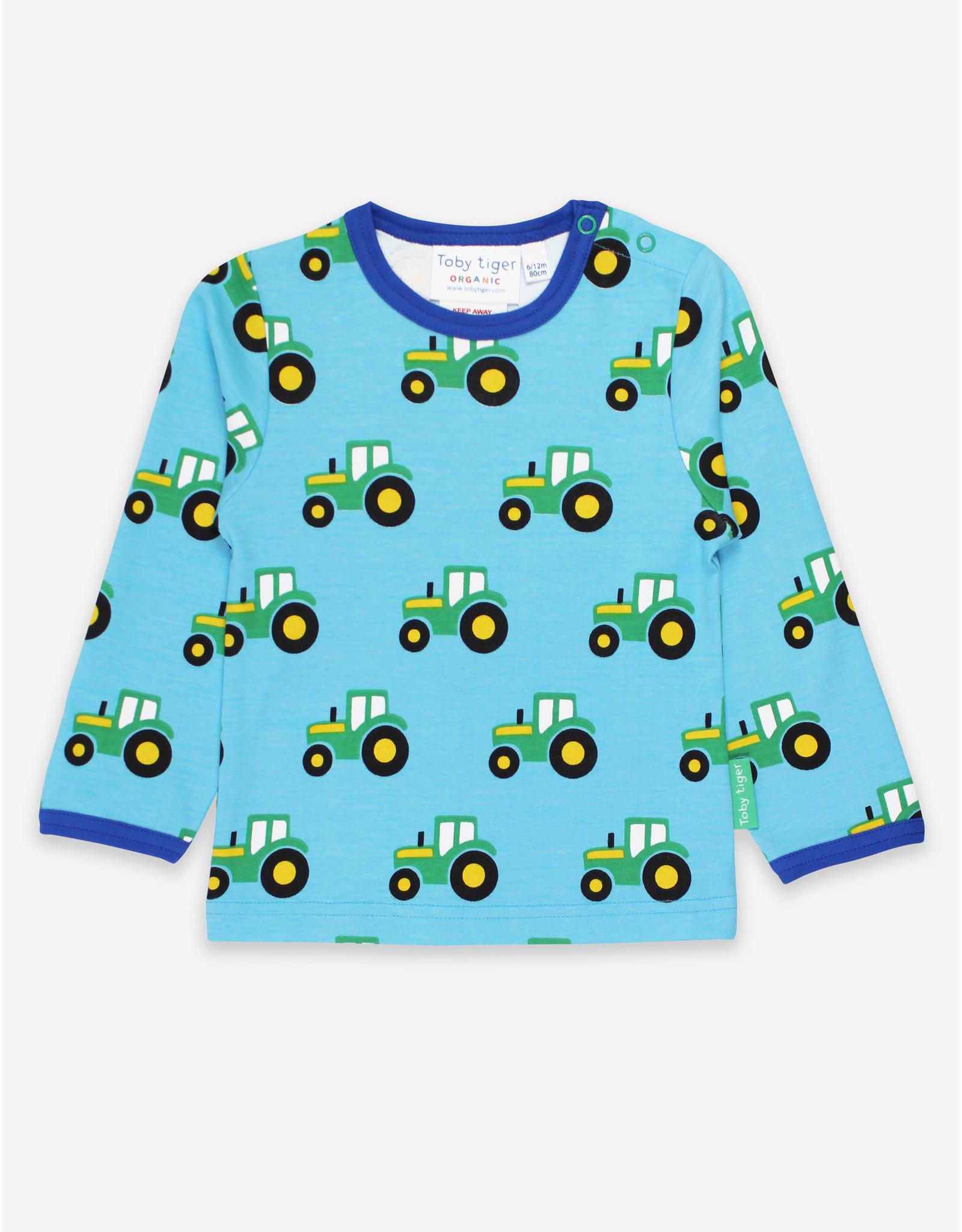 Toby Tiger Kinder shirt - tractor