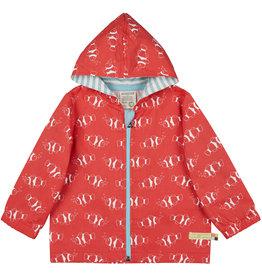 loud+proud Kinder zomerjasje - rode vissen