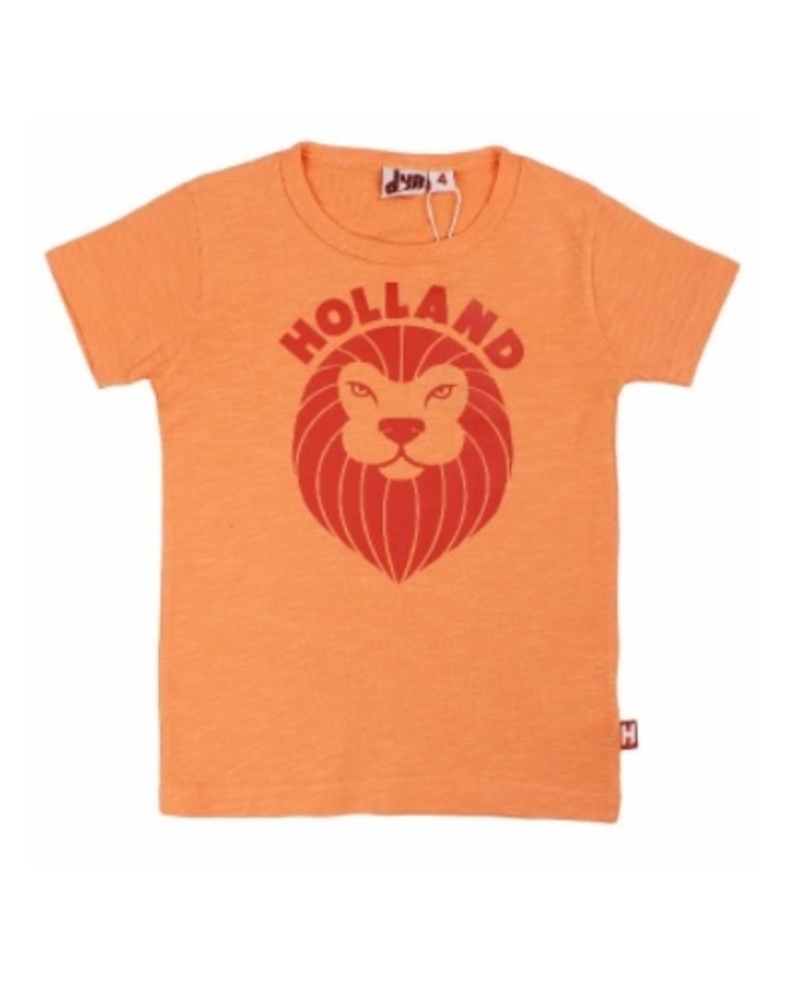 Danefae T-shirt - peach leeuw