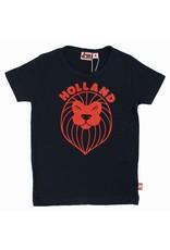 Danefae Kinder t-shirt - navy leeuw
