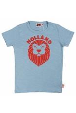 Danefae Kinder t-shirt - pale blue leeuw