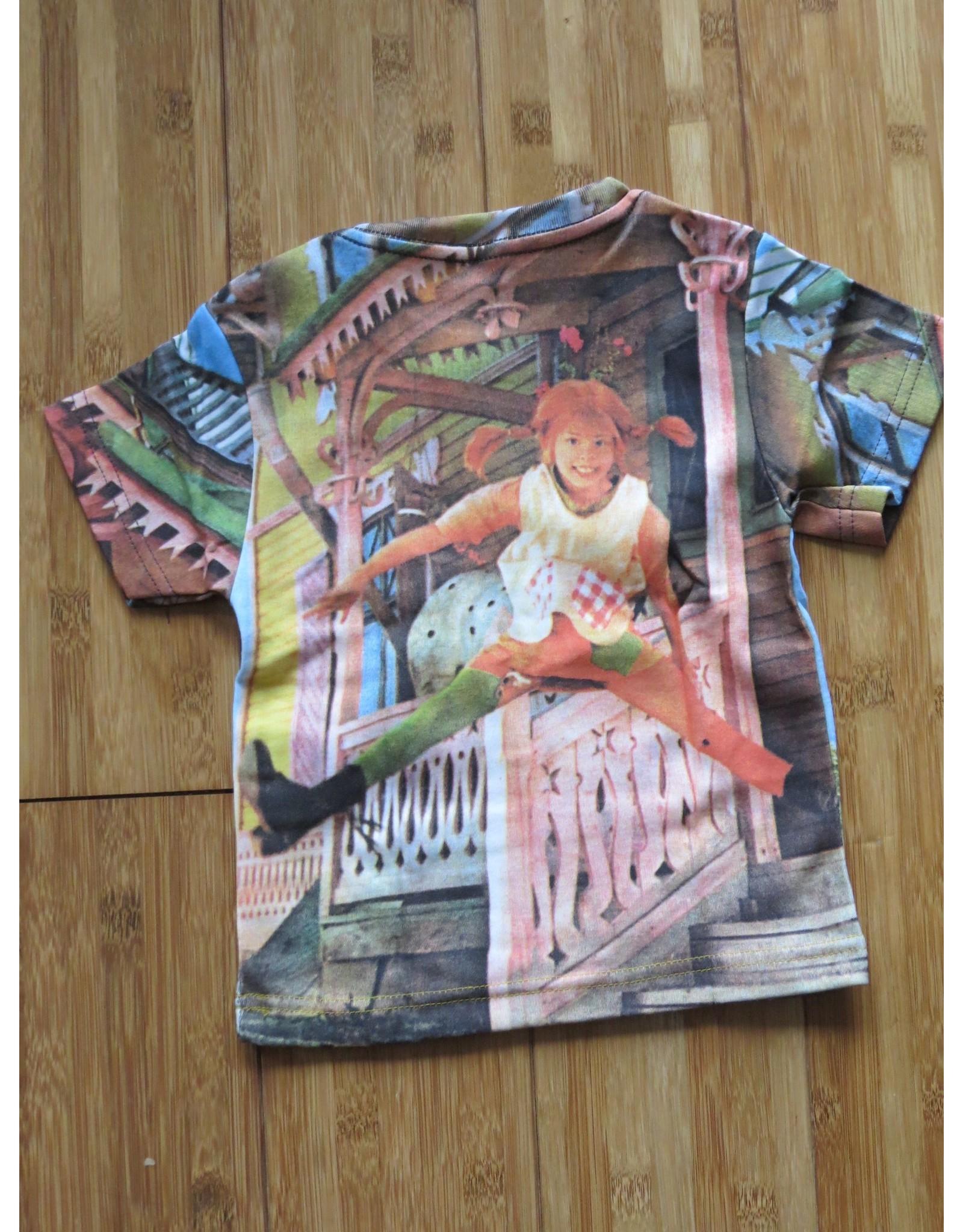 Pippi Langkous Children's tshirt - Villa Kakelbont