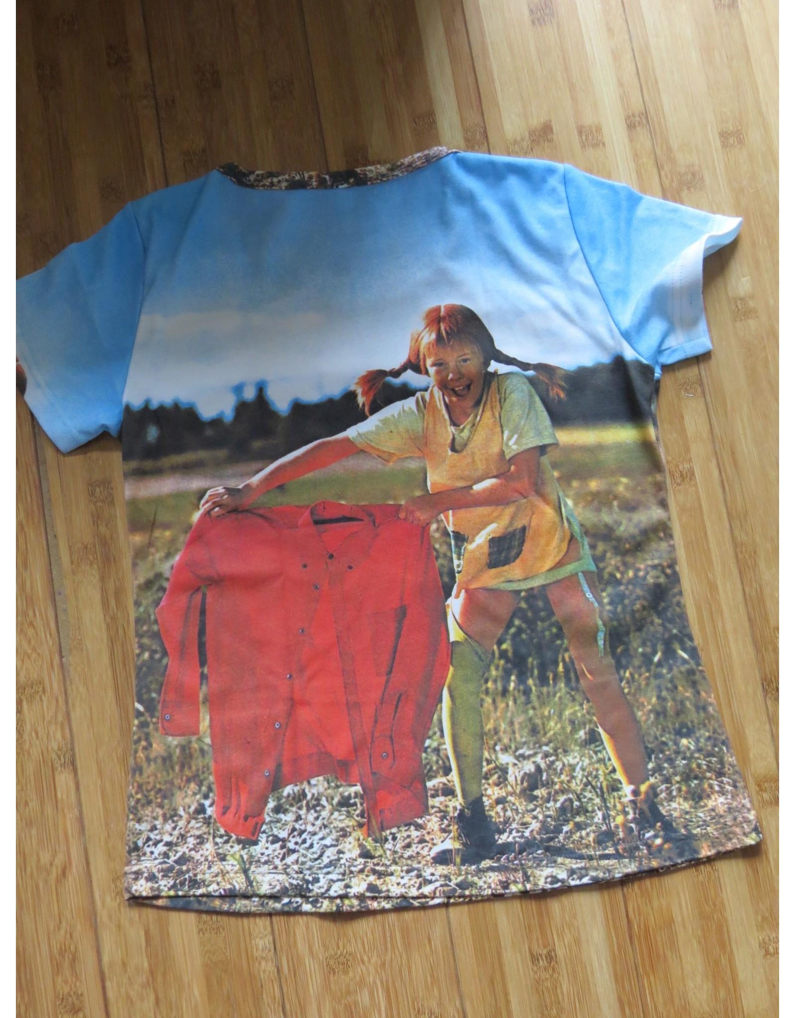 Pippi Langkous Volwassen t-shirt - Pippi torero