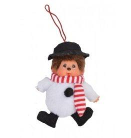 Monchhichi - Christmas - sneeuwpop